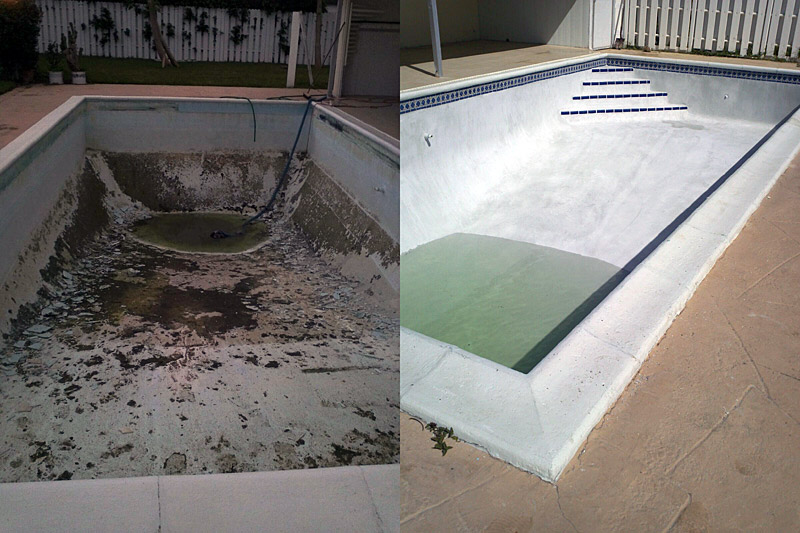 Pool Cleaning Sample